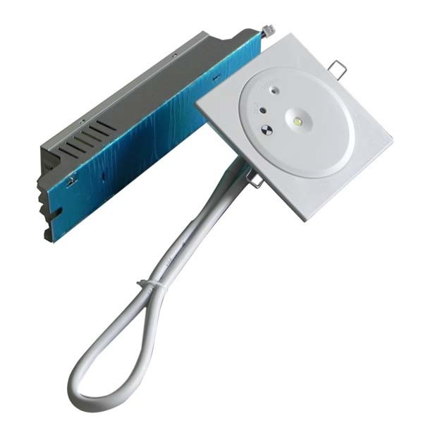Ceiling Recessed Battery Operated LED Industrial Emergency Light