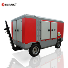 93KW Diesel Portable Mobile Air Compressor