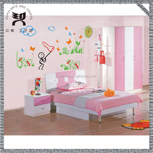 non-toxic material fancy custom design removable wall stickers butterfly