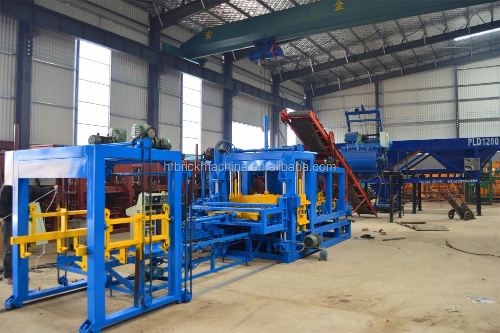 QT6-15 automatic cement Hollow Block Machine In Philippines