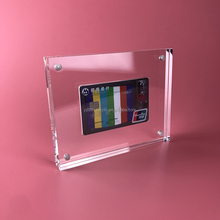 high end acrylic display holder for bank debit card, business card