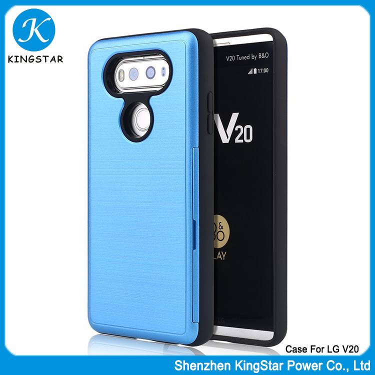 2017 Trendy Hybrid TPU PC Drop Resistance Mobile Cell Phone Case For LG V20