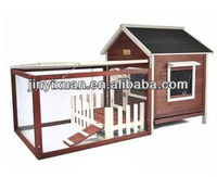 New design Rabbit hutch with cage & fence perfect for Two - Three Rabbits / Rabbit house with luxury design