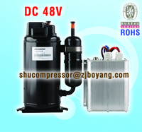 CAR AC PART OF DC 48V COMPRESSOR FOR aircraft engine starting power supply dc electric motor 48v for self contained battery pow