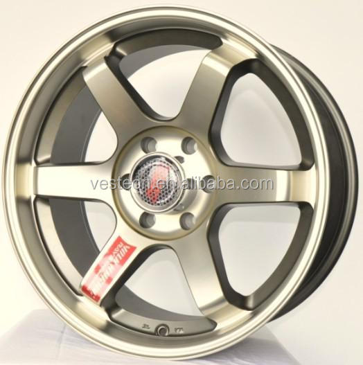 15 17 20 inch te37 replica alloy rims wheels