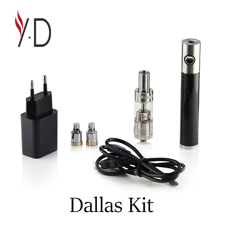 Factory price !16650 and 50w huge vaporizer YANDAO Dallas kit temperature control electronic cigarette from China