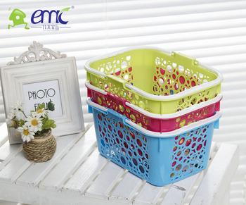 PP Plastics bath storage baskets with handle  sc 1 st  Zhejiang Yimei Plastics Cement Co. Ltd. - Alibaba & Pp Plastics Bath Storage Baskets With Handle - Buy Flexible Garden ...