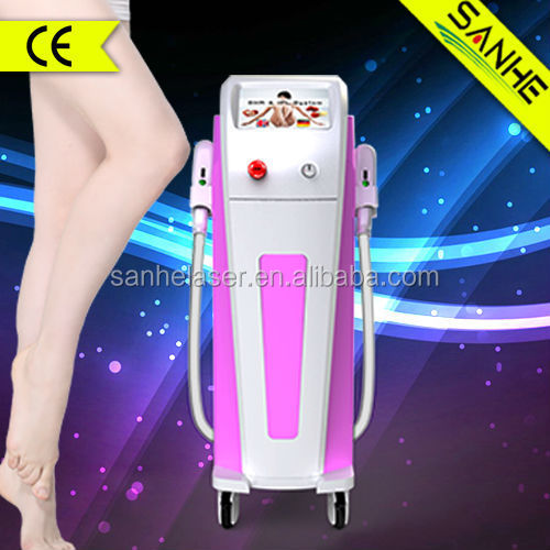 permanent hair removal depilator equipment perkin elmer xenon flash lamp 300,000 shots with CE approved/ipl laser machine