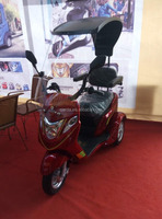price of electric tricycle/ 3 wheel electric scooter /battery operated tricycle with windshield and waterproof top tent