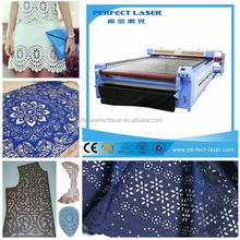 automatic cloth-rolling fabric cloth laser cutting machine 1300*2500mm