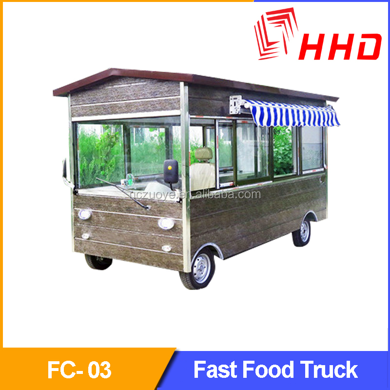 Snack Hot Dog Juice Ice Cream Application And New Condition Mobile Food Cart,Outdoor Food Kiosk For Sale