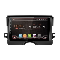 9 Inch Car Radio Android Capacitive Car GPS DVD Touch Screen with Reversing Camera and Blueeoth and Mobile Phone Network for Toy