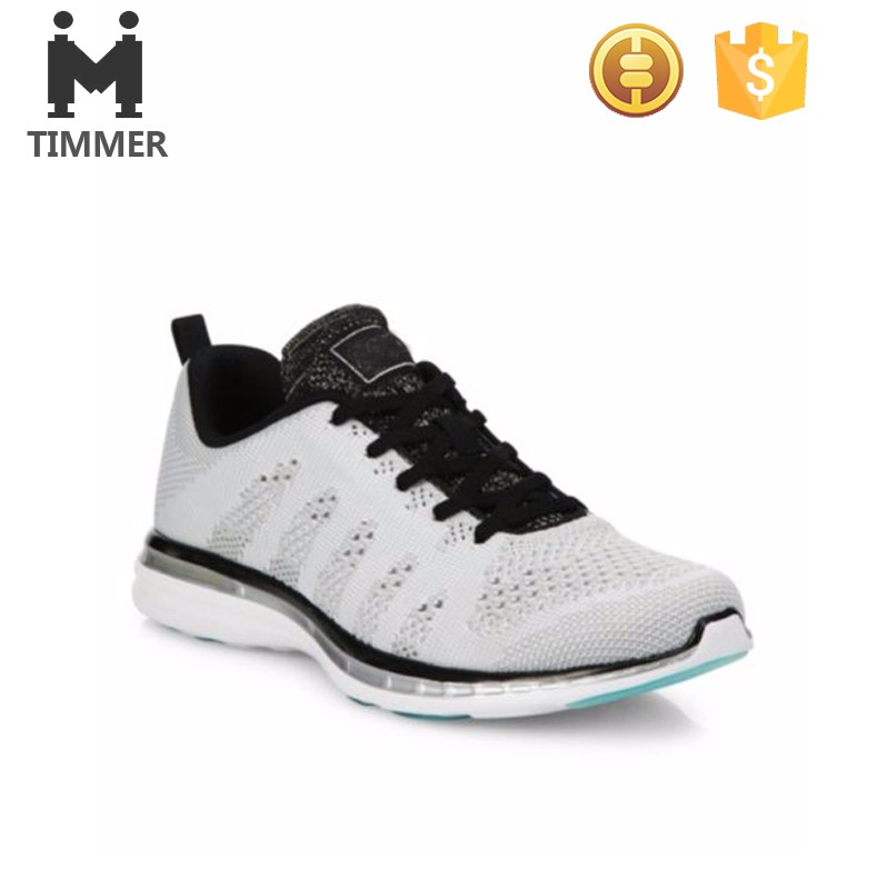 fashion and breathable Outdoor sport atheltic light weight running shoes