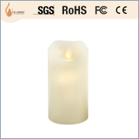 flicker natural flameless smooth yellow led candle