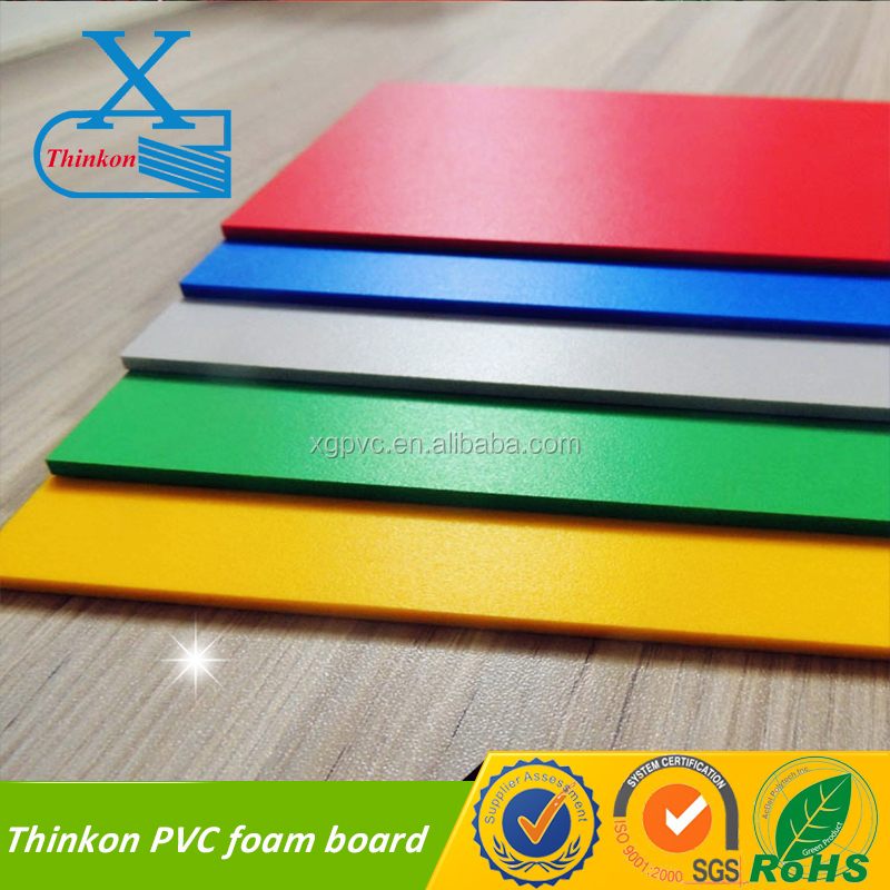 pvc decking outdoor high impact pvc foam sheets pvc foam board with Digital Printing