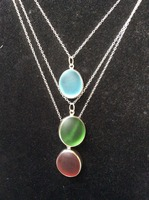 925 sterling silver necklace with marble sterling silver cable chain 2.10 x 1.50 x 0.30 mm