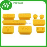 fashion panton color silicone anti dust plug for holes