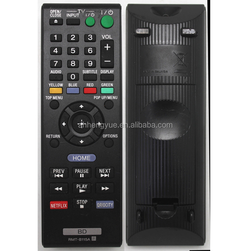samsung smart tv free sample Led Tv Remote Control for SONY RMT B115A