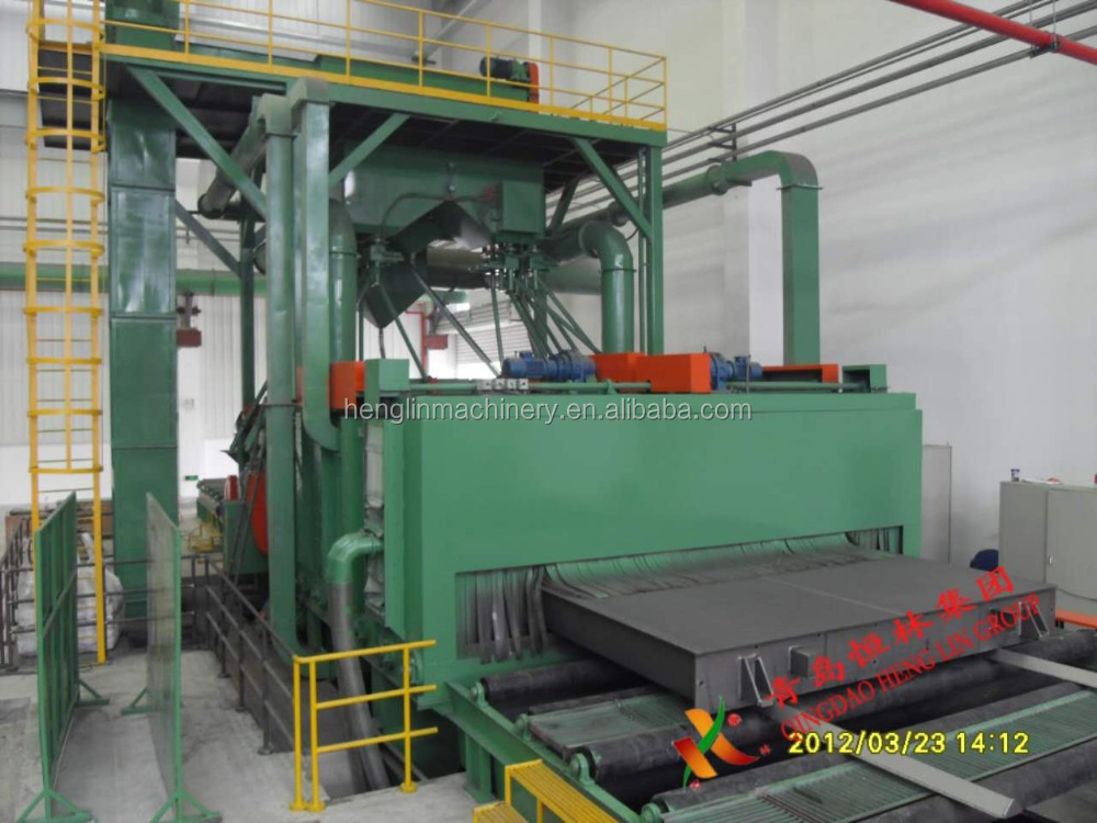 Roller Conveyor Shot Blasting Machine (HQ69)