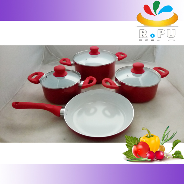 Competitive price New Style Cooking Pot With Bakelite Handle Fruit Shape royalty line cookware,moroccan tagine,reoona cookware