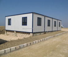 Hot selling steel frame prefabricated house collapsible container offices