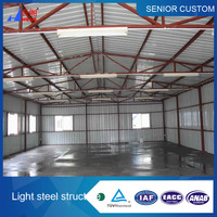 Strong Steel structure for building workshops and factories and hotels