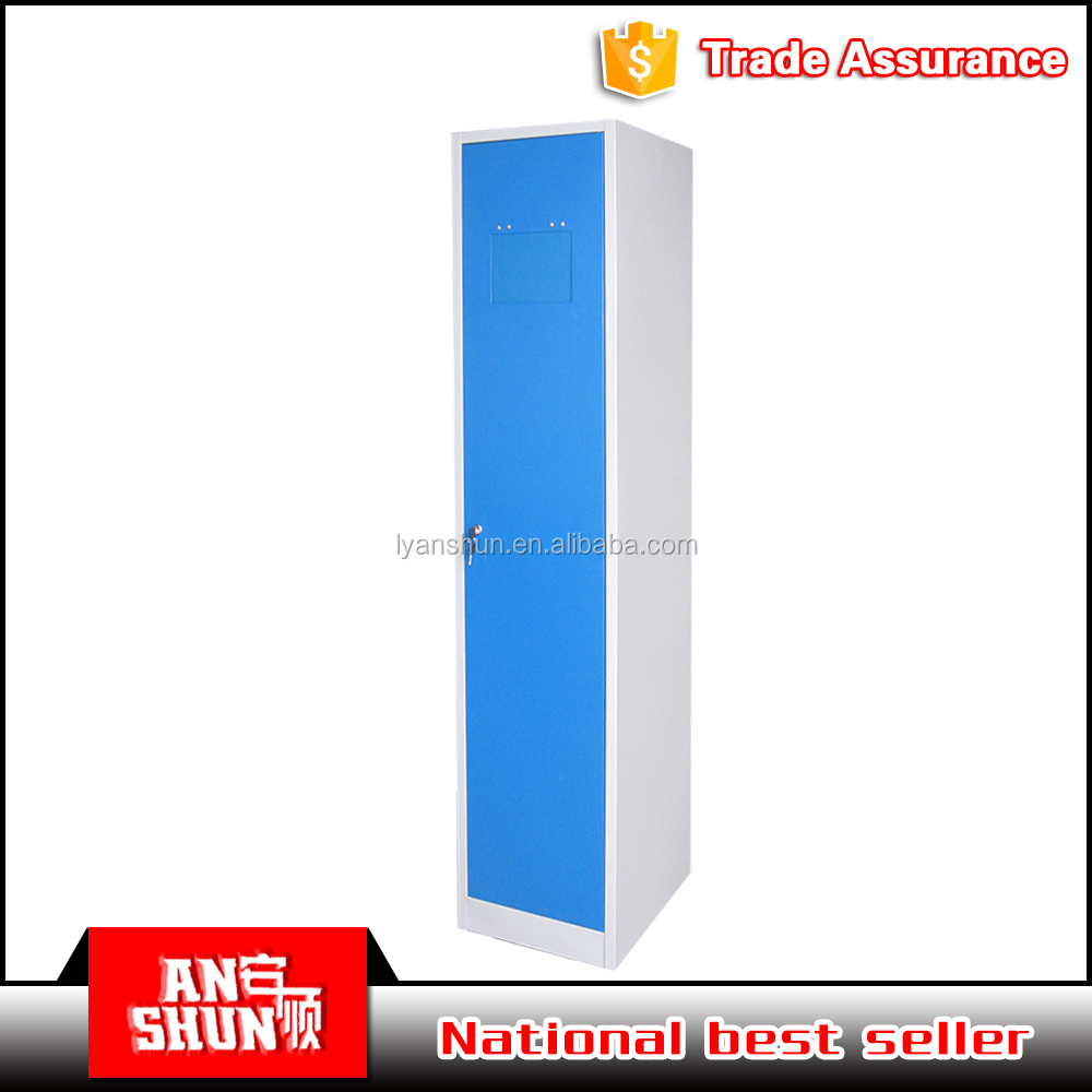 standard size Powder Coating Surface steel bedroom dormitary steel locker for changing room