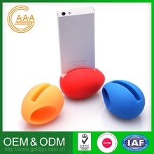 Hot Sell Custom Cell Phone Holder Speaker Harmless Silicone Horn Speaker Holder For Iphone 6