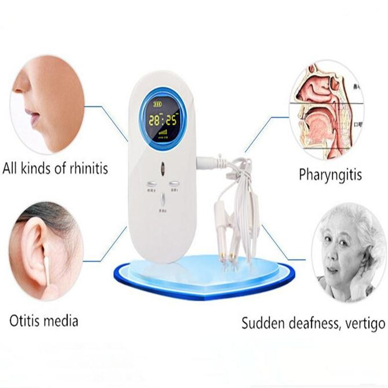 Small size household allergic rhinitis pocket doctor physiotherapy laser therapy device