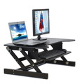 Ergonomic design portable and adjustable standing laptop stand