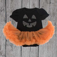 pumpkin romper set halloween Tutu dress romper suits for toddler OEM service