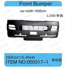 for hiace kdh200 font bumper,#000317-1 2005-2009 ,low roof