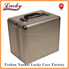 Tool Case Aluminum Metal Storage Hard Box Bag Carry Tote 12V Drill Impact