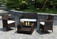 Wicker / Rattan Outdoor Patio Furniture Set /HB41.9090