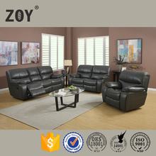 ZOY-D9931Wholesale Sofa Modern Leather Air Sofa Furniture Sets Electric Power Recliner Sofa