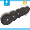 Crossfit Equipment Weight Lifting Black Rubber Bumper Plate