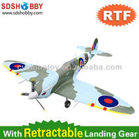 47in Spitfire Brushless Foam Electric Airplane RTF with 2.4G Radio Control/ Retractable Landing Gear