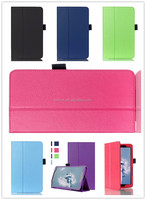 factory price flip Litchi leather cover case for LG G PAD 2 8.0 V498