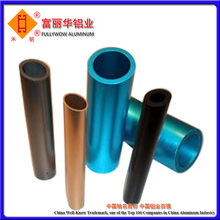Color Anodized or Powder Coated Adjustable Aluminum Tube with Different Size in Stock or Customized Specification