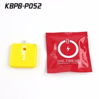 Sinobangoo Emergency condom power bank 1000mAh dispossible charger