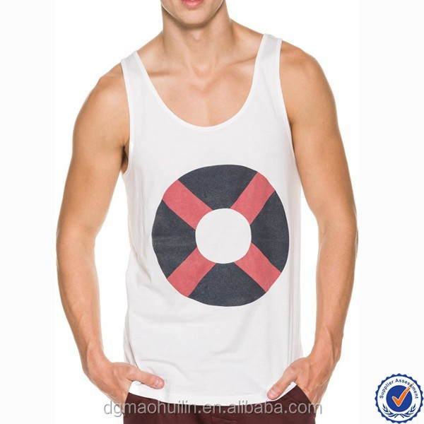 cheap custom bodybuilding tank tops mens singlet printed gym vest for men