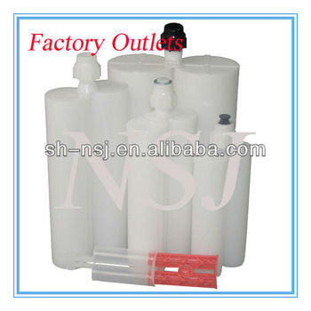 High quality dual component PP/PBT glue cartridge