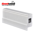 Waterborne Solid Pvc Reinforced Shutter Extrusions