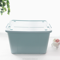 HMT7011 stackable storage bin plastic storage box with handle