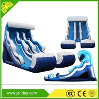 Commercial with pool inflatable water slide for kids