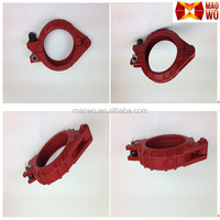 Made In China Concrete Pump Spare Parts Concrete Pump Pipe Clamp Stainless Steel Pipe Clamp