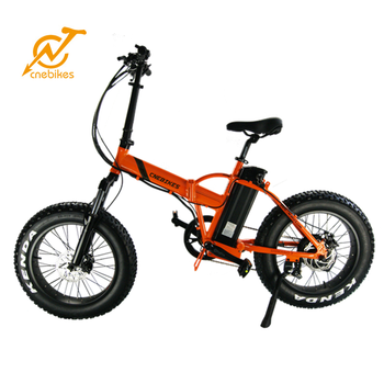"20"" Folding Bike Foldable Mountain Bicycle red & orange for young people"
