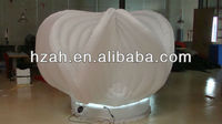 White Inflatable Flower Model For Wedding Decoration