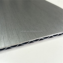 Excellent Impact Assistance brushed silver acp panel sheets