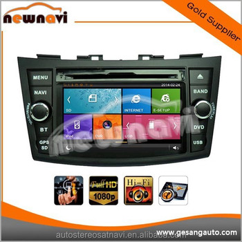 7 inch Newest GPS Navigator car stereo for SUZUKI SWIFT 2011- with 1080P 3g wifi BT DVR IPOD TV tuner AM/FM